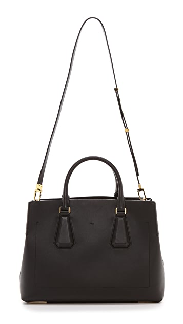 Michael Kors Collection Vivian Large Satchel