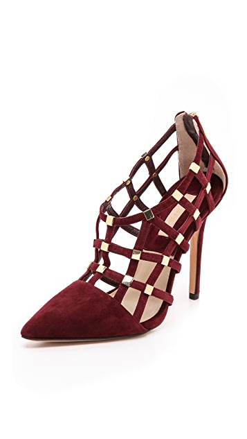 Michael Kors Collection Agnes Cage Pumps