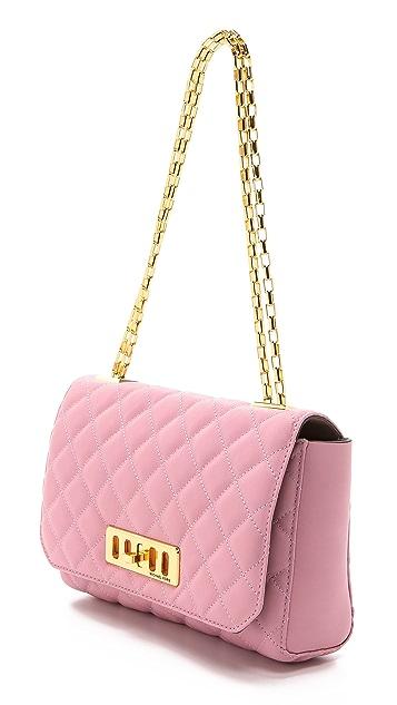 Michael Kors Collection Vivian Quilted Shoulder Bag
