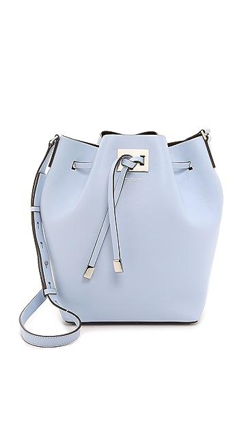 Michael Kors Collection Miranda Drawstring Bucket Bag