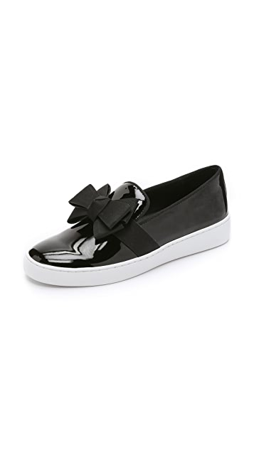 Michael Kors Collection Val Bow Sneakers