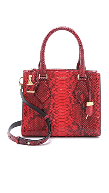 4edcc49c6964 Michael Kors Collection Python Casey Satchel | SHOPBOP