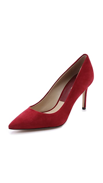 Michael Kors Collection Garner Suede Pumps