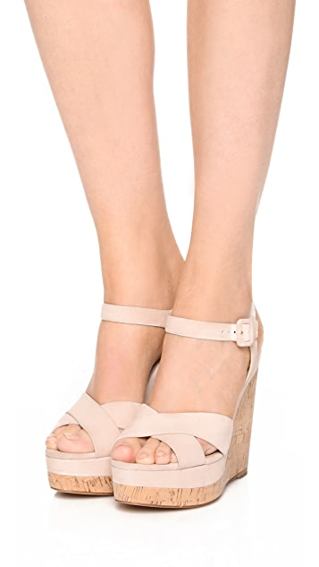 0a779fbb8538 Michael Kors Collection Cate Wedges  Michael Kors Collection Cate Wedges ...