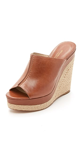 Michael Kors Collection Charlize Wedge Mules