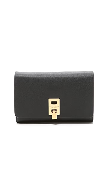 c0f1f19476cef3 Michael Kors Collection Miranda Wallet with Strap | SHOPBOP