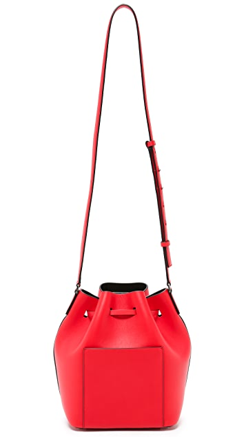 Michael Kors Collection Miranda Bucket Bag