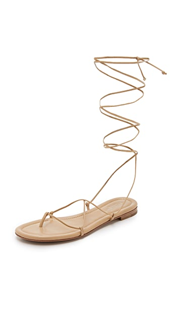 bef5183cc8dd Michael Kors Collection Bradshaw Lace Up Sandals