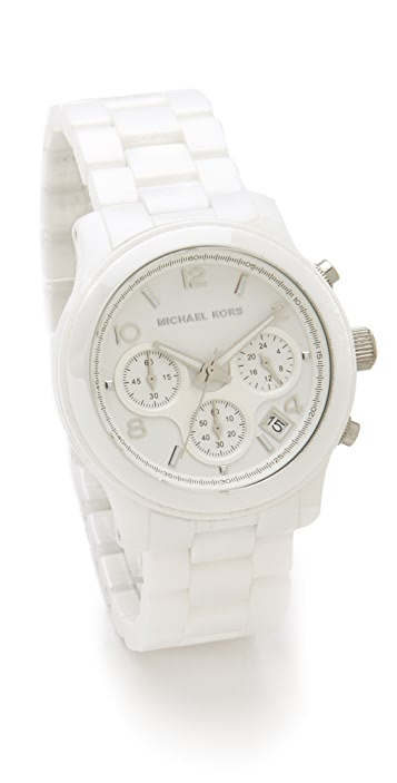 Michael Kors Ceramic Watch
