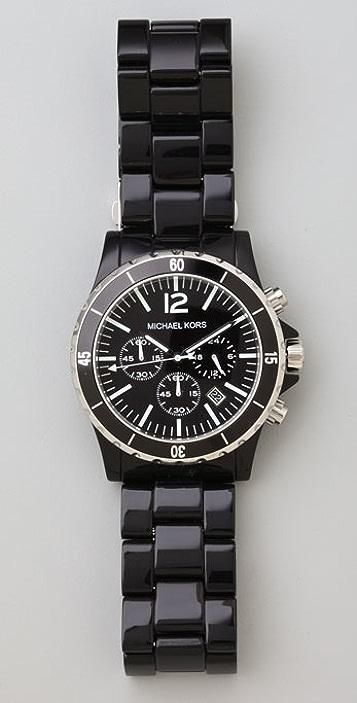Michael Kors Black Oversized Watch