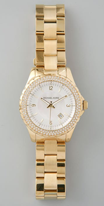 Michael Kors Bling Bezel Watch