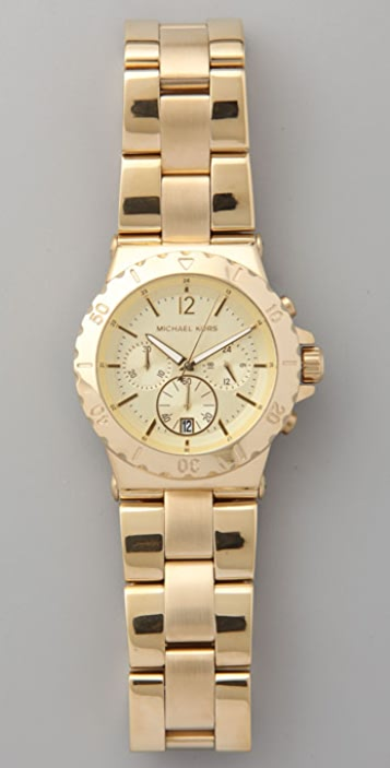 Michael Kors Round Face Watch