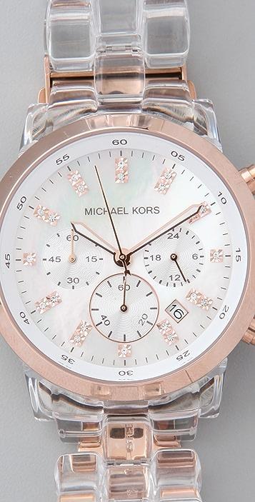 Michael Kors Two Tone Watch