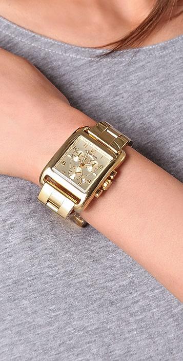 Michael Kors Chronograph Square Watch