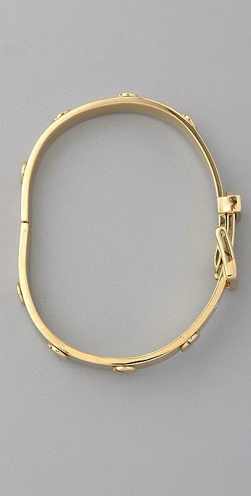 Michael Kors Buckle Gold Bracelet