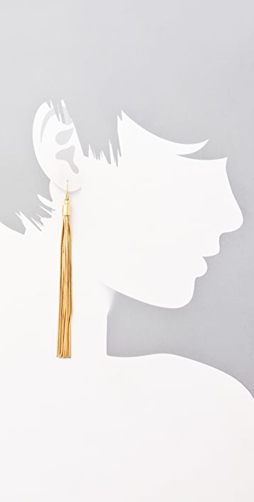 Michael Kors Glam Classics Tassel Earrings