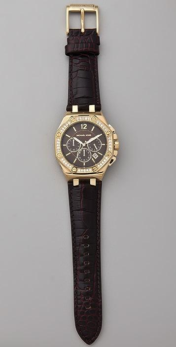 Michael Kors Knox Octagonal Chronograph Watch