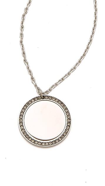 Michael Kors Pave Drop Necklace