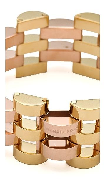 Michael Kors Open Deco Link Bracelet