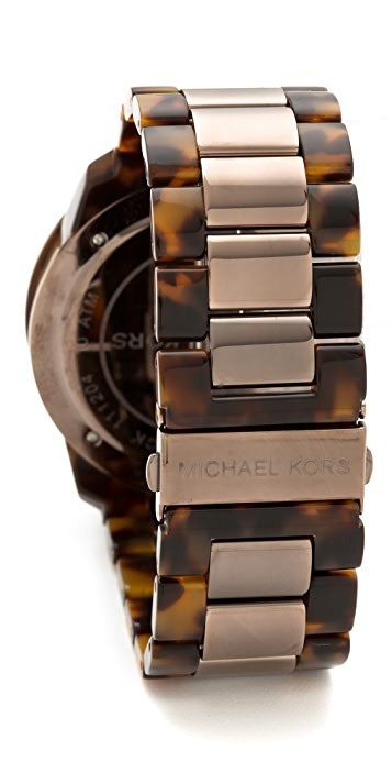 Michael Kors Oversized Runway Chrono Watch