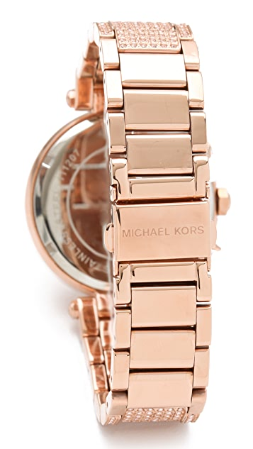 Michael Kors Parker Glitz Chronograph Watch