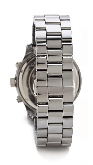 Michael Kors Runway Chronograph Watch in Titatium & Ceramic