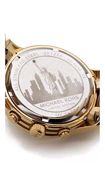 Michael Kors Limited Edition New York Watch