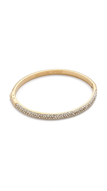 Michael Kors Pave Hinged Bangle