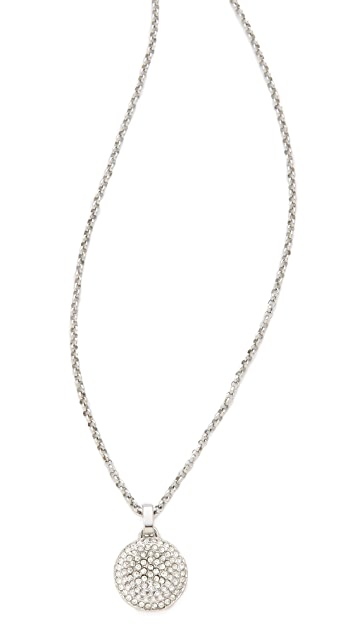 Michael Kors Concave Pendant Necklace