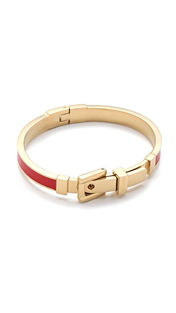Michael Kors Enamel Buckle Bangle