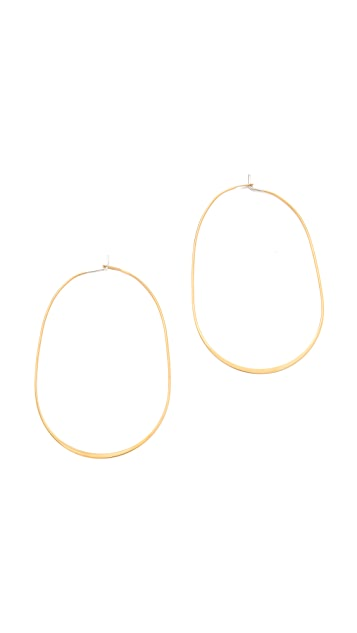 Michael Kors Large Orbital Whisper Hoops