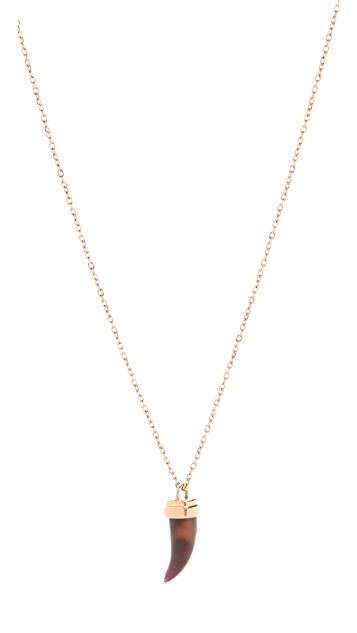 Michael Kors Small Tortoise Horn Necklace