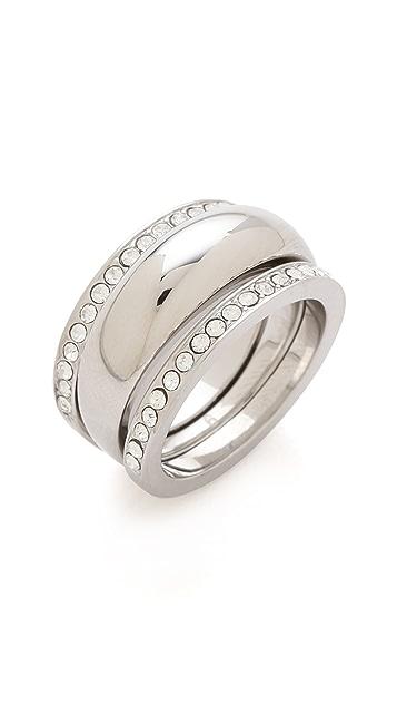 Michael Kors Grayson Pave Ring Set