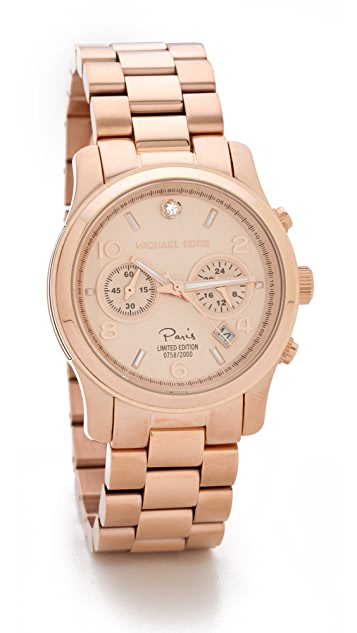 Michael Kors Runway Paris Watch
