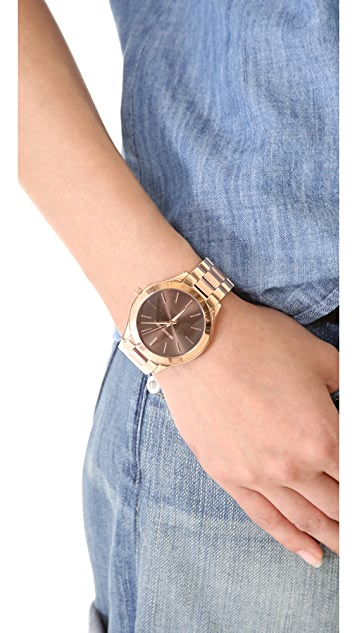 6bb52c222f0f ... Michael Kors Slim Runway Watch ...