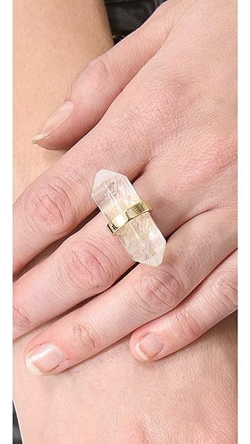 Michael Kors Seaside Luxe Geode Ring