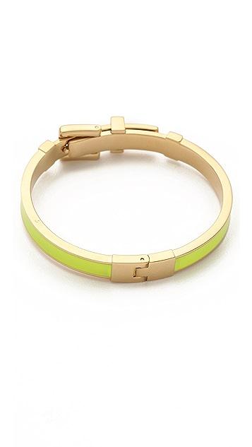 Michael Kors Enamel Buckle Bracelet