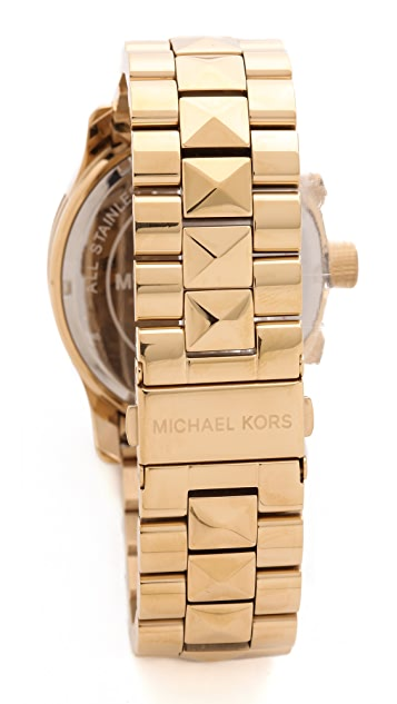 Michael Kors Pyramid Stud Runway Watch