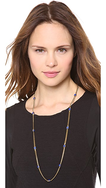 Michael Kors Pyramid Station Necklace