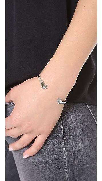 Michael Kors Pave Pyramid Cuff Bracelet