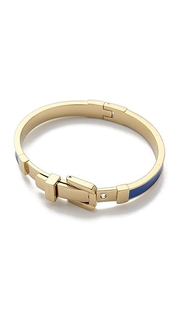 Michael Kors Epoxy Buckle Bangle Bracelet