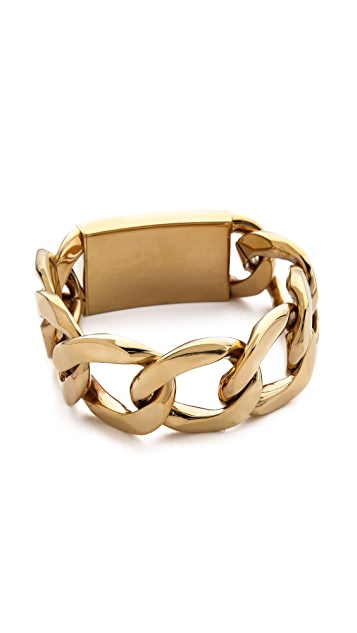 Michael Kors Large Curb Chain Bracelet