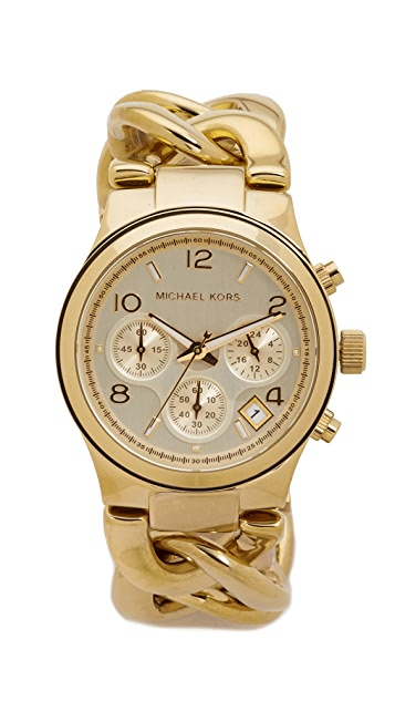 Michael Kors Runway Twist Watch