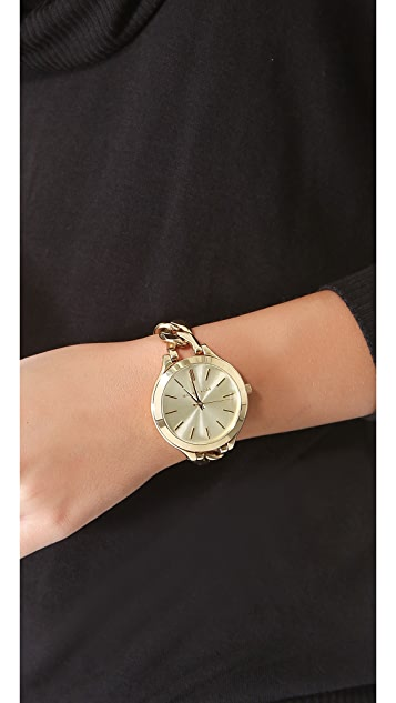 Michael Kors Slim Runway Twist Watch