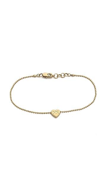 Michael Kors Heart Chain Bracelet