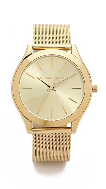 Michael Kors Vintage Glam Slim Runway Watch