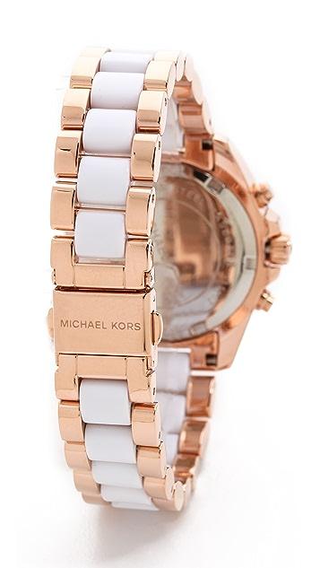 Michael Kors Safari Chic Mini Bradshaw Watch