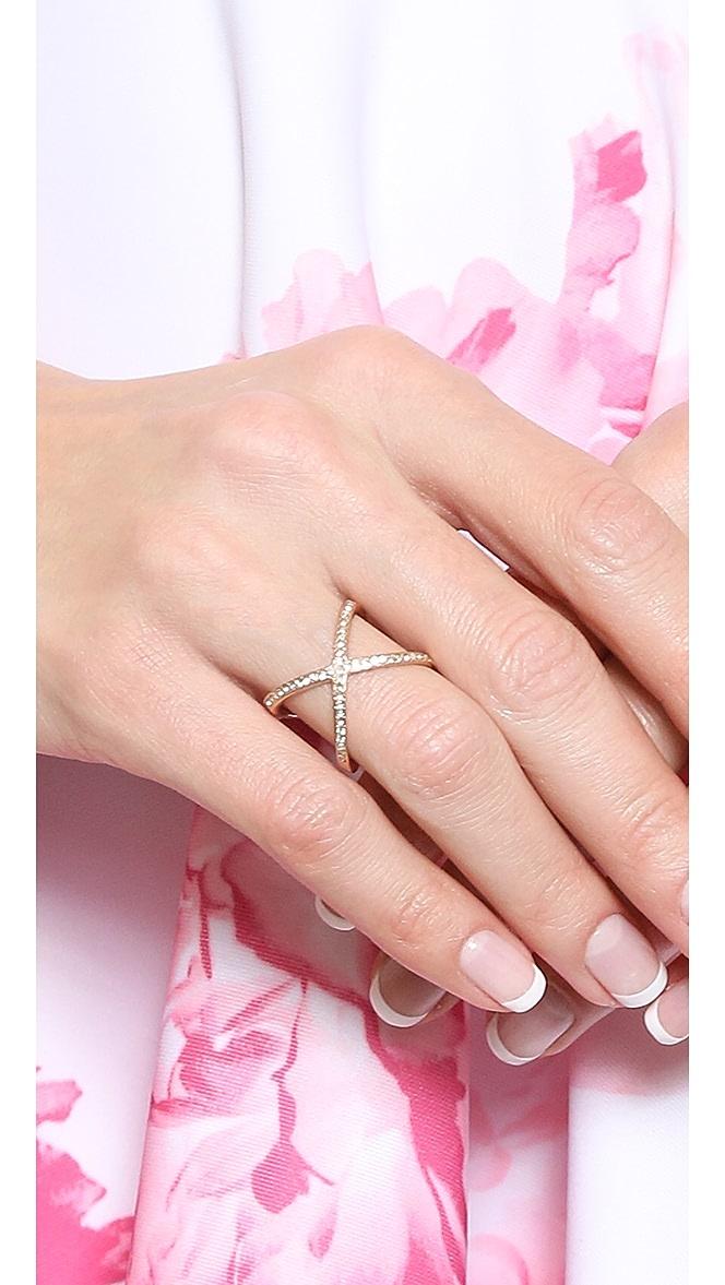 michael kors x ring