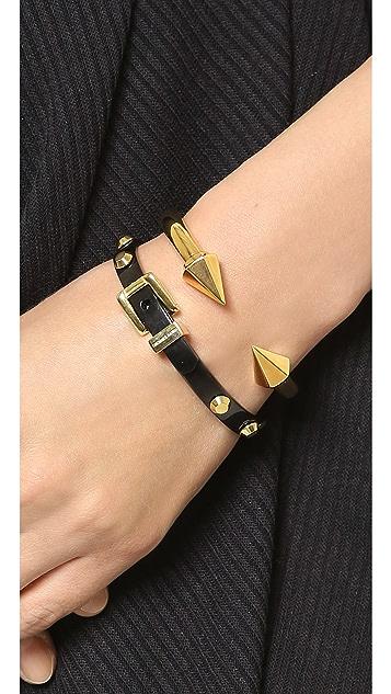 Michael Kors Двухцветный браслет-бэнгл с пряжкой