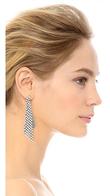 Michael Kors Park Avenue Triangle Earrings